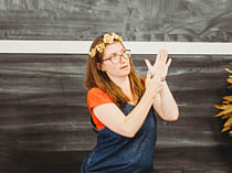 Deaf Led Auslan tour<br> with Sigrid Macdonald