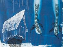 Folklore and trace monotype workshop with Emma Gardner